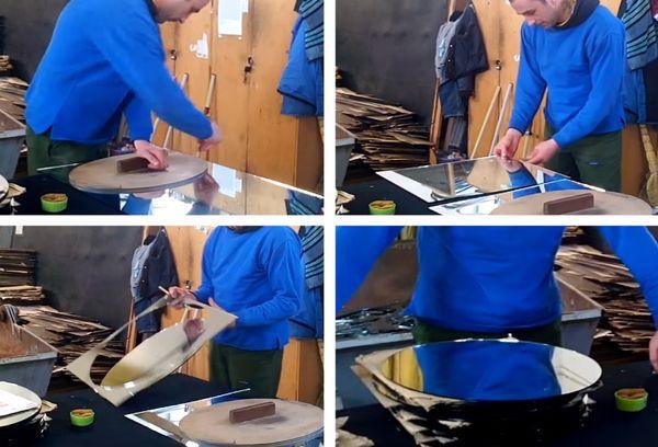 Как правильно отрезать зеркало