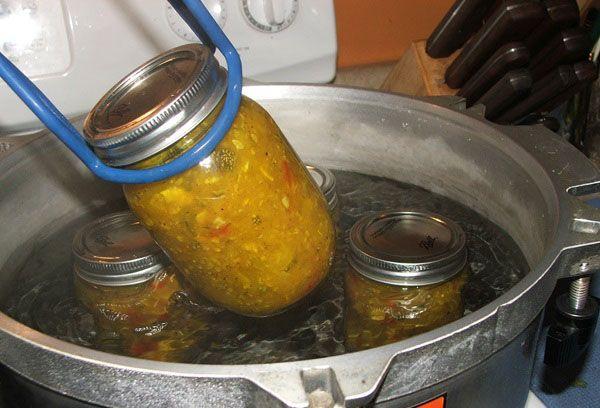 Пастеризация готовых консервов