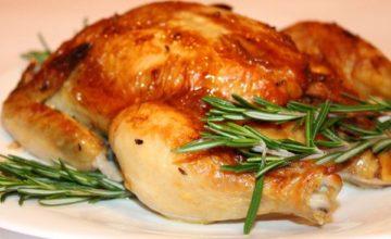 Как запечь вкусную курицу до золотистой корочки в духовке