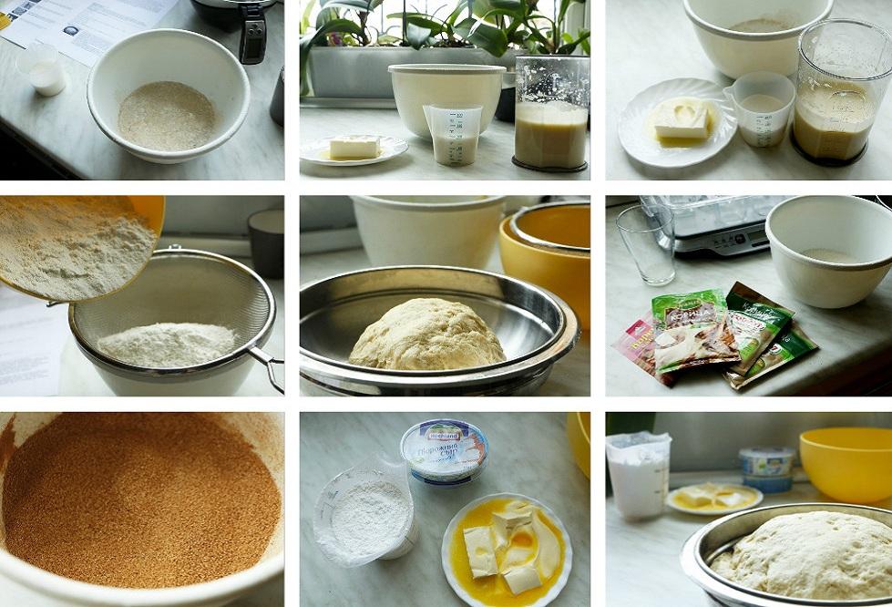 Тесто для карамельного синнабона