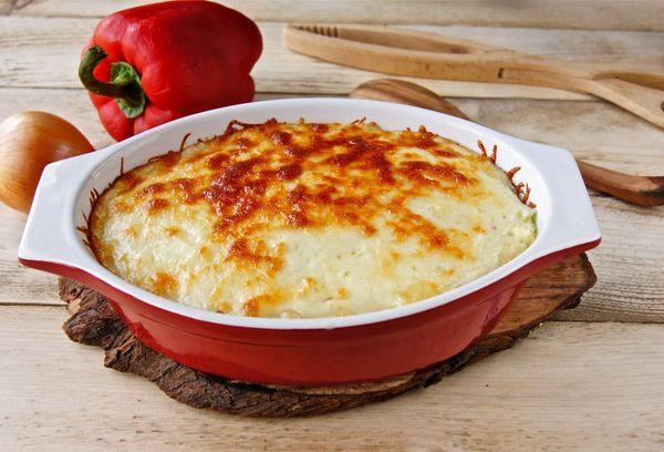 Запеканка с картошкой и мясом