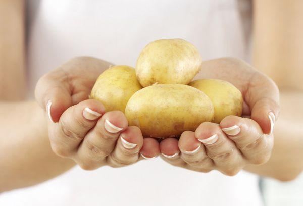 картофель от пятен
