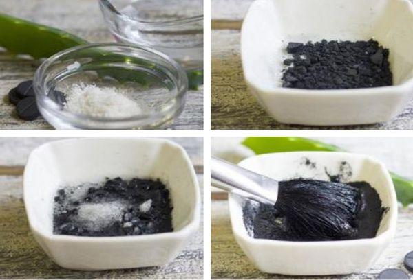 Активированный уголь с соком алоэ