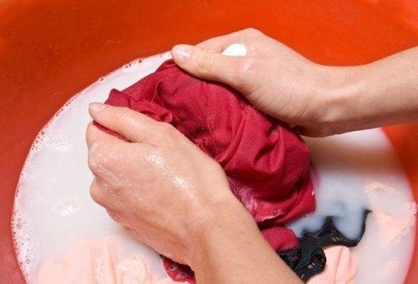 стирка одежды ручная