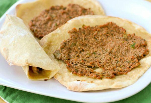 Лепешки армянские ламаджо