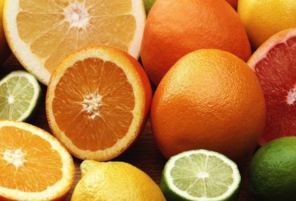 Цитрусы фрукты