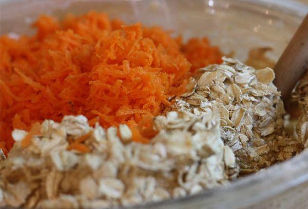 овсянка с морковью и апельсином