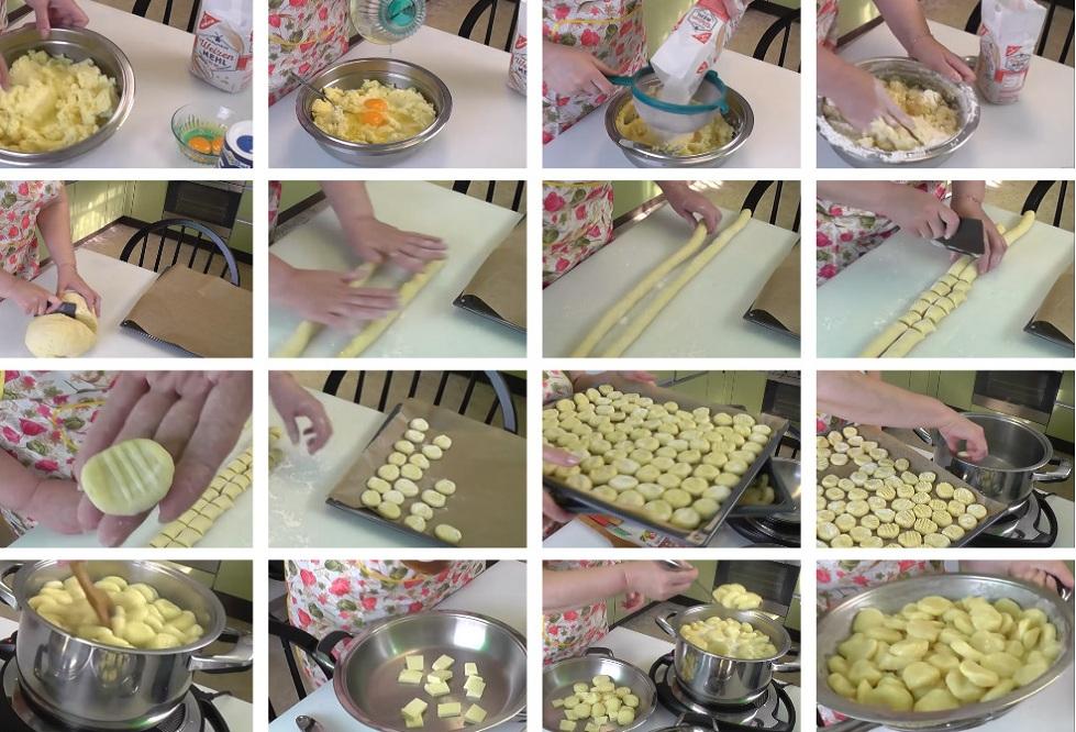 Приготовление ленивых вареников