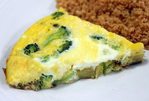 Брокколи с яйцом рецепт с фото пошагово