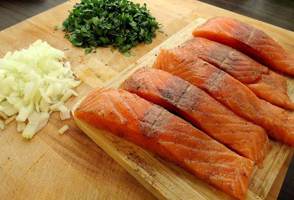 лосось (филе)