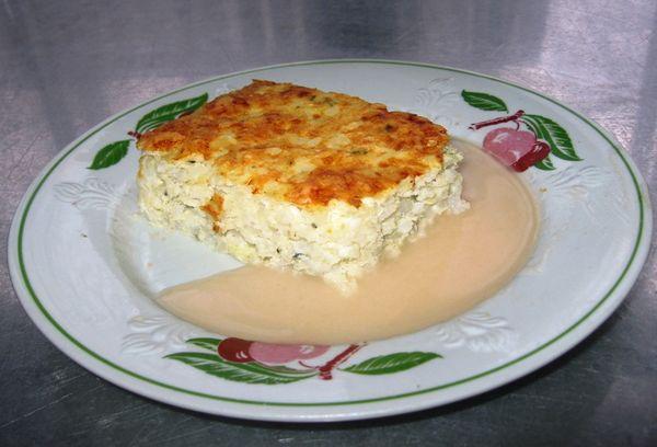 Запеканка рыбно-рисовая