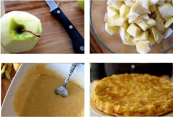 Приготовление десерта из яблок