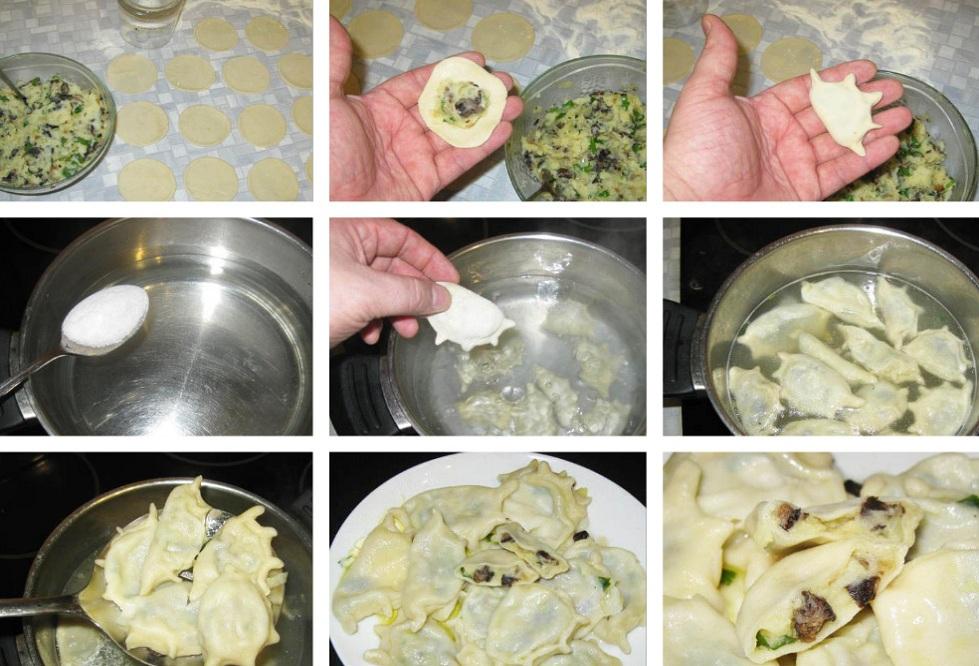 Приготовление вареников