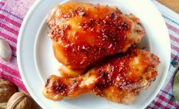 4 вкуснейших варианта курицы с медом и в духовке