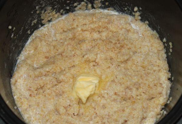 Каша из пшеничной крупы с молоком