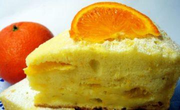 Апельсиновая шарлотка в духовке — пальчики оближешь!