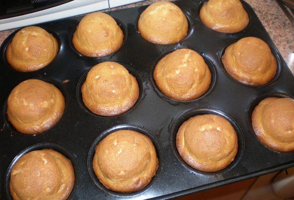 Испеченные кексы