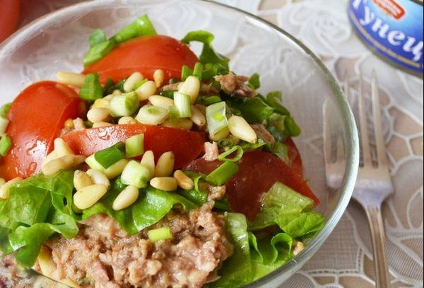 Кедровый салат