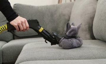 Чем и как вывести пятна и разводы с дивана в домашних условиях?