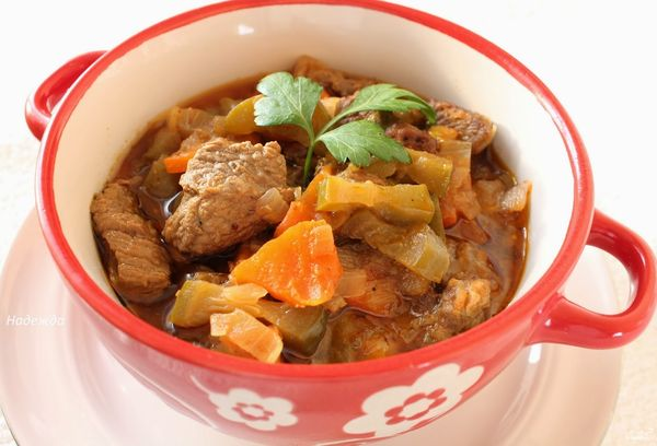 Блюдо Азу