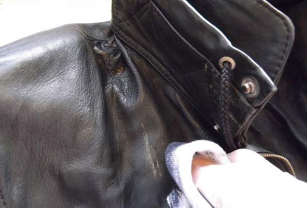 Соленые разводы на куртке