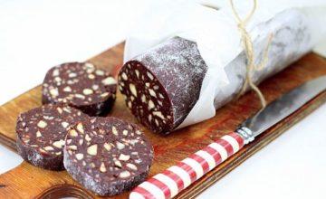 Как приготовить шоколадную колбаску из детства: 5 лучших способов