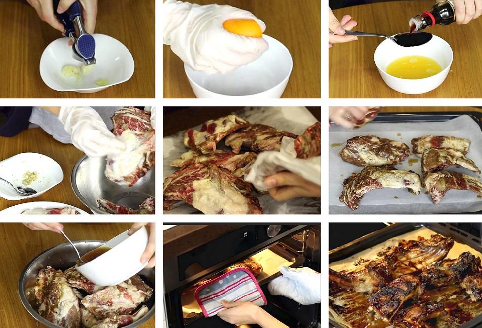 Приготовление мясного блюда