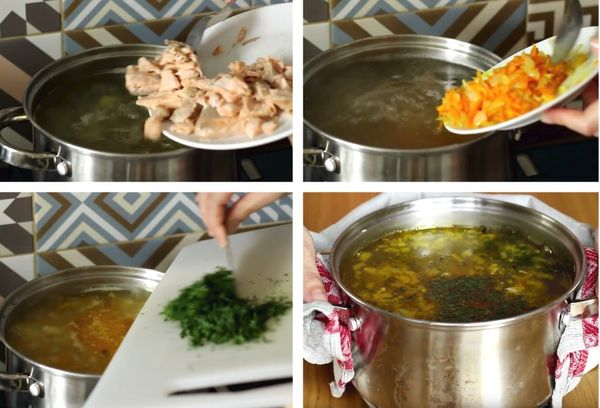 Суп рыбный приготовление