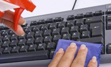 Как и чем очистить клавиатуру компьютера и ноутбука