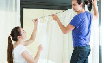 Как вешать шторы правильно: интересные способы и рекомендации