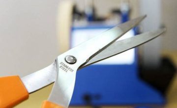 6 способов, заточить ножницы своими руками