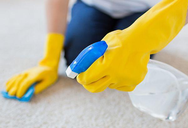 Средство для чистки коврового покрытия
