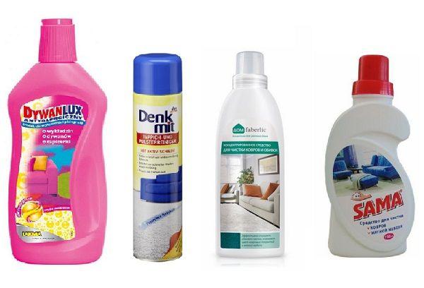 Средство для чистки ковров и мебели