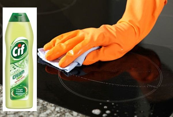 Cif Cream для чистки плиты