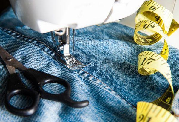 Способы ремонта джинсов