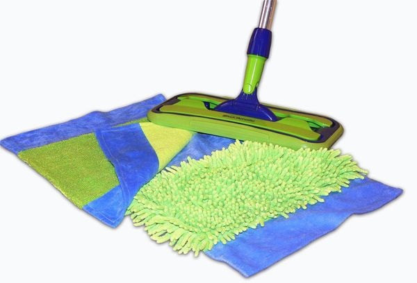 Шваба и тряпки для уборки