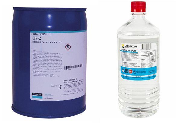 Уайт-спирит и Dow CorningOS-2