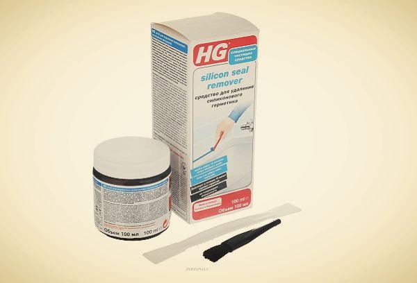 HG для удаления герметика
