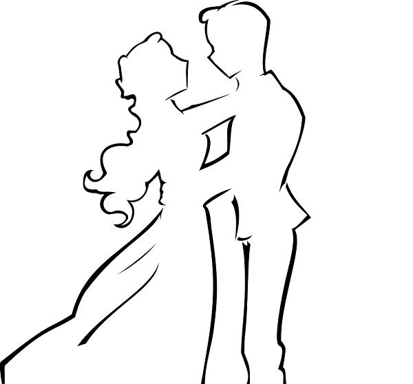 Шаблон танцующей пары