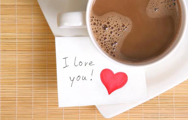 Кофе и записка