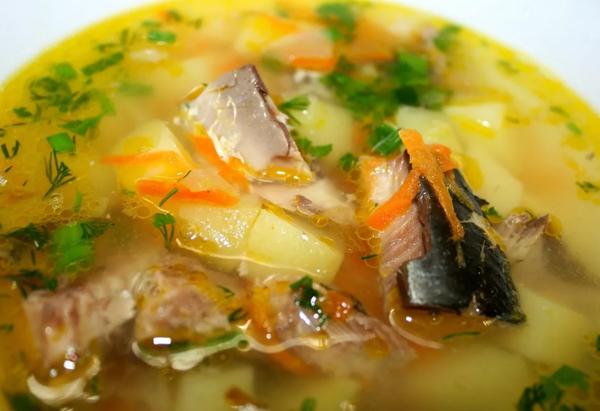 Рецепт супа из сайры