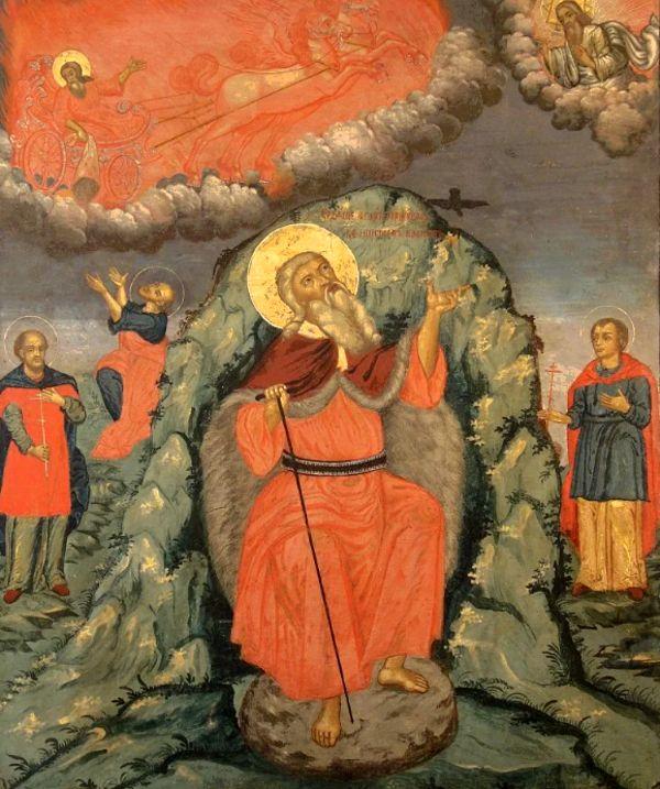 Илья пророк икона