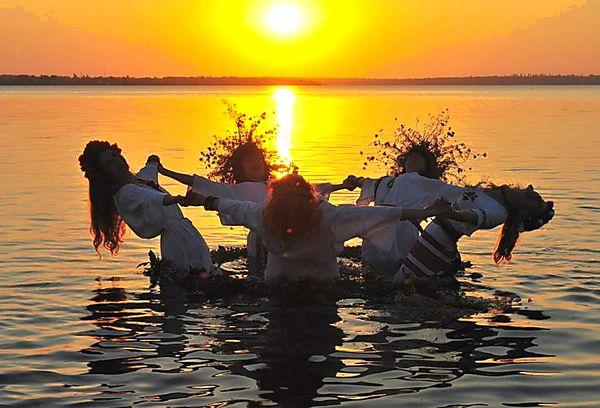 Купания в реках и озерах