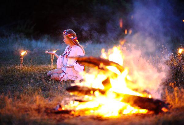 Очищение огнем в Ивана Купала