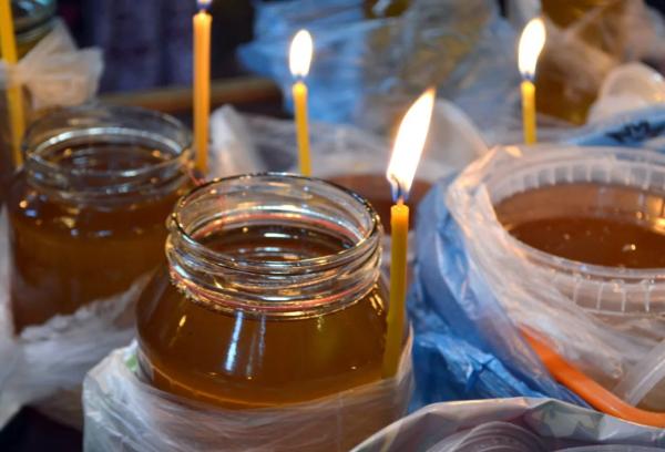 Медовый спас освящение меда