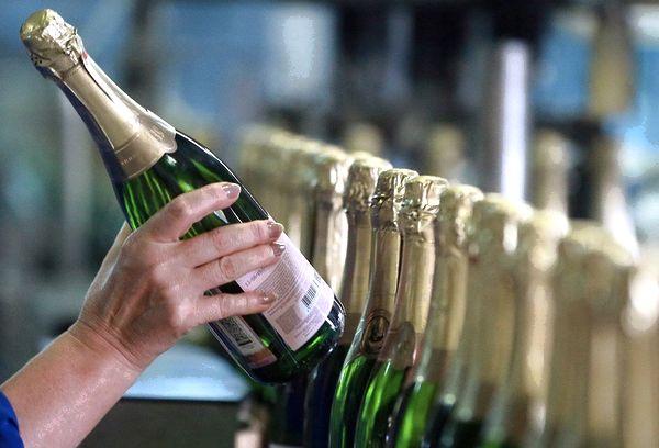 Покупка шампанского