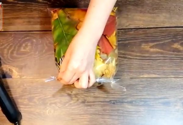 Филин из листьев 2